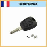Coque Plip Clé Télécommande Boitier Peugeot 106 206 306 406 2 Switchs Bouton FR