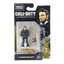 "Mega Construx Call of Duty Series 3 Vladimir Makarov Micro Action Figure 2"""