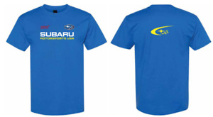 Subaru MOTORSPORTS USA LOGO  T Tee Shirt Impreza Sti WRX BOXER JDM NEW RALLY