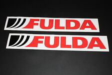 Fulda Reifen Aufkleber Sticker Decal Kleber Logo Schriftzug Bapperl Autocollant