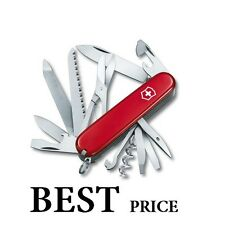 1.3763 VICTORINOX COMPACT SWISS ARMY RANGER 53861 RED POCKETKNIFE 21 TOOLS NEW !