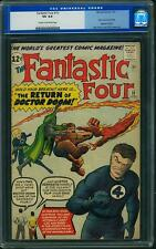 Fantastic Four # 10 us Marvel 1963 Dr Doom, Stan Lee & Jack Kirby cgc 4.0 VG