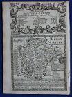 DEVONSHIRE, DEVON, original antique map from 'Britannia Depicta', E. Bowen, 1759