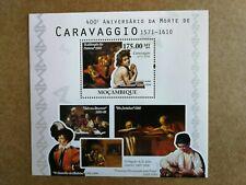 Sellos Mozambique. Hojita del año 2010.Nueva  MNH. Caravaggio