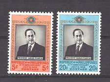 PHILIPPINES ,1958 , PRESIDENT GARCIA , SET OF 2 ,  PERF,  MNH