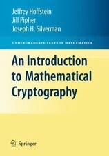 An Introduction to Mathematical Cryptography (Undergraduate Texts in Mathematics