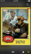Topps Star Wars Digital Card Trader Topps Choice 2 Saelt-Marae Insert Award
