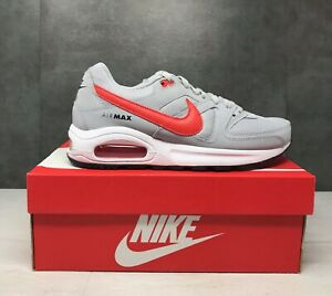 Nike Air Max Command Flex (GS) Wolf Grey/ Track Red-White 844346-004 Size 6.5Y