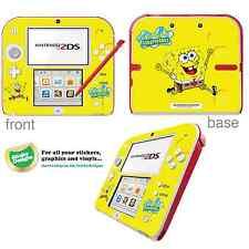 Spongebob Squarepants Vinyl Skin Sticker for Nintendo 2ds