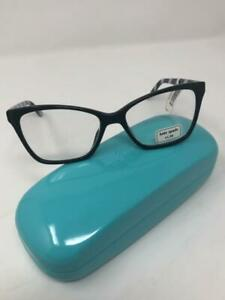 Kate Spade PAVA BLACK  READERS   NEW WITH CASE  2.0  WITH CASE