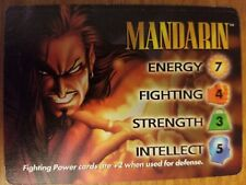 Marvel Overpower IQ Mandarin Hero Card NrMint-Mint Card