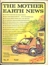 THE MOTHER EARTH NEWS #35 Sept 1975 - ECOLOGY, SURVIVALIST, HIPPIE, COMMUNE