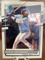 2020 Optic Baseball Randy Arozarena RC Rated Rookie Tampa Bay Rays No.51