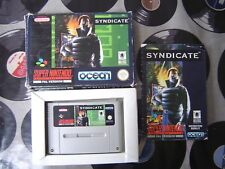 SNES Syndicate (with box & manual) PAL