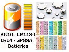20 x Knopfzellen AG10 LR1130 LR54 GP89A UHREN BATTERIE  BATTERY AG10