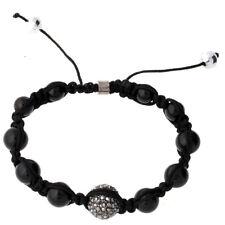 Iced Out Unisex Bracelet - Disco Ball ONE noir