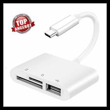 3 in 1 Blitz zu TF SD Kartenleser Kamera USB OTG Adapter für IPhone IPad