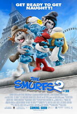 "008 The Smurfs 2 - Hot Movie Film Art 24""x36"" Poster"