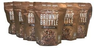 6 Pack Shelia G's Chocolate Chip Brownie Brittle 5 oz BB:01/2022 (8G)