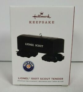 Hallmark Keepsake Christmas Ornament - Lionel 1001T Scout Tender 2019