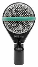 AKG D112 MKII Kick Drum Bass Guitar Microphone Mic For Church Sound Systems