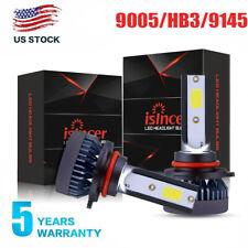 New listing 2Pcs 9005 Hb3 Mini Led Headlight Bulbs 9145 9140 H10 Fog Lights 120W Hi-Low Beam