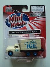 CLASSIC METAL WORKS 1960 FORD  BOX TRUCK  CITY ICE  Co   1/87  HO PLASTIC