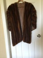 Vintage  Mink Fur Stole/Cape from the 50's