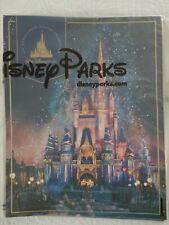 Walt Disney World 50th Anniversary Theme Park Commemorative Poster Oct 1st - NEW