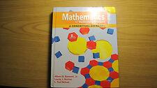 Mathematics for Elementary Teachers: A Conceptual Approach Bennett, Albert; Burt