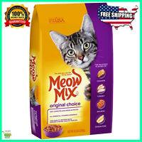 Meow Mix Original Dry Cat Food Chicken & Salmon 6.3 Lb (pack of 1)