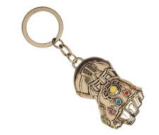 Avengers Infinity War Thanos Gauntlet Keychain Gold