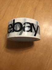 "2"" x 75 yards Black  eBay Branded Packaging Tape"