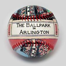 Rangers The Ballpark In Arlington Printed Unforgetaball! Un-signed