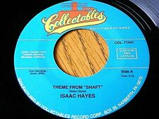 """ISAAC HAYES - THEME FROM """"SHAFT"""" / THEME FROM """"THE MEN""""  7"""" JUKEBOX VINYL"""
