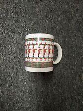 Matrix Nut Cracker Toy Soldiers Jill Garber 80's Vintage Papel Holiday Mug