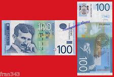 SERBIA 100 Dinara 2013 Pick 57b  SC / UNC