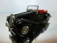 WESTERN MODELS - MG TF 1953 - BLACK 1:43 - EXCELLENT CONDITION - 5