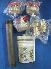 Einbausatz für Wärmezähler Techem Nr. 340230  NEU