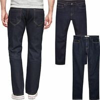 Mens Next Denim Jeans Loose Straight Leg Regular Fit Trouser Waist & Leg 30-46""