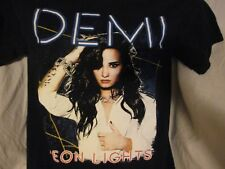 Demi Lovato The Neon Lights Concert Tour 2014 Size Small Black T-Shirt