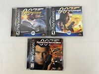 007 Tomorrow Never Dies|The World Is Not Enough|Racing - Lot Of 3 Tested PS1