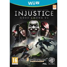 Injustice: Les Dieux sont parmis nous Nintendo Wii U Neuf sous Blister