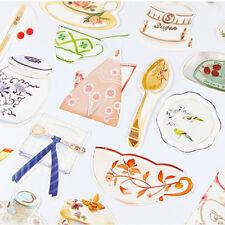 Postcards Novelty Dinnerware Greeting Card For Birthday Letter Envelope Gift HC