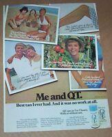 1976 print ad page - Coppertone QT suntan Cute Girl quick tanning tan Plough AD