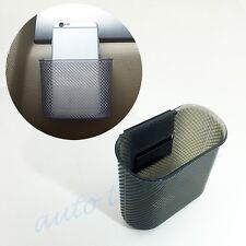 Universal Car Accessories Storage Box Bag Bin Case Cup Holder Pocket Trash Can