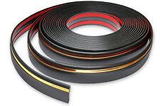 Zierleiste 60mm breit | schwarz gold | flexibel selbstklebend | Meterware
