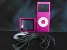 IPOD NANO 4GB MODEL #A1199 W/VIDEO SCREEN & EARPLUGS *WORKS*NO CHARGER