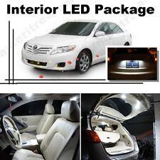 For Toyota Camry W/ Sunroof 2012-16 White LED Interior kit + White License Light