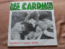 SINGLE PROMO LOS CARDIACOS - ALGUIEN A QUIEN AMAR - DRO SPAIN 1987 VG+